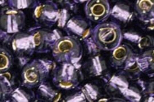 Margele Toho rotunde 6/0 - Silver-Lined Tanzanite