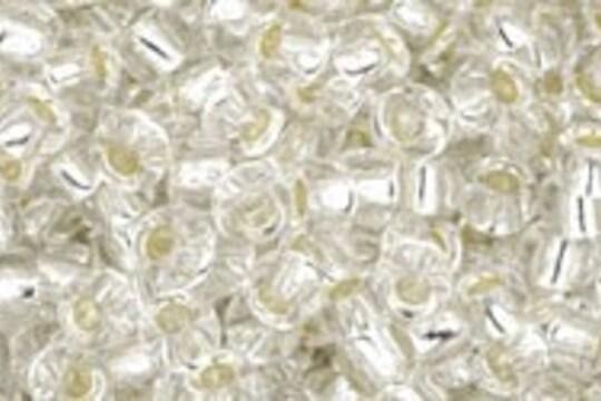 Margele Toho rotunde 8/0 - Silver-Lined Crystal