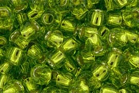 Margele Toho rotunde 8/0 - Silver-Lined Lime Green