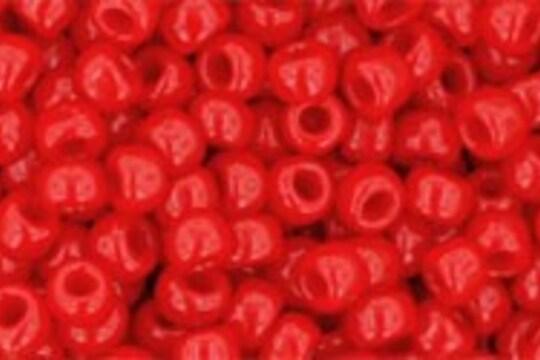 Margele Toho rotunde 8/0 - Opaque Cherry