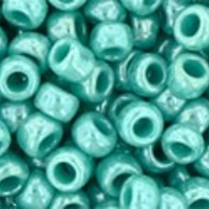 Margele Toho rotunde 8/0 - Opaque-Lustered Turquoise