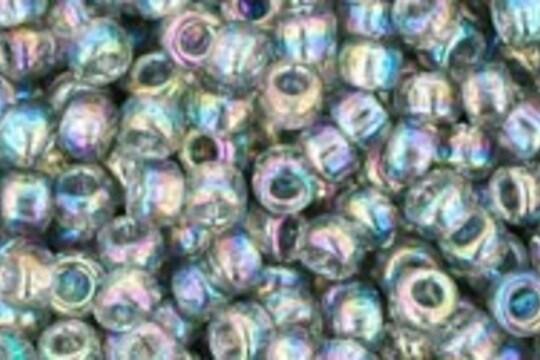 Margele Toho rotunde 8/0 - Trans-Rainbow Black Diamond