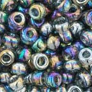 Margele Toho rotunde 8/0 - Trans-Rainbow Gray