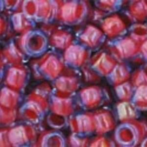 Margele Toho rotunde 8/0 - Inside-Color Lt Sapphire/Hyacinth Lined