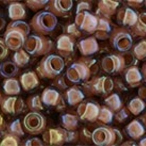 Margele Toho rotunde 8/0 - Inside-Color Rainbow Topaz/Mauve