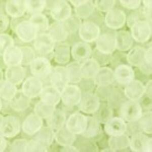 Margele Toho rotunde 11/0 - Transparent-Frosted Citrus Spritz