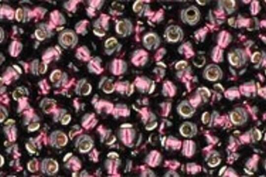 Margele Toho rotunde 11/0 - Silver-Lined Amethyst