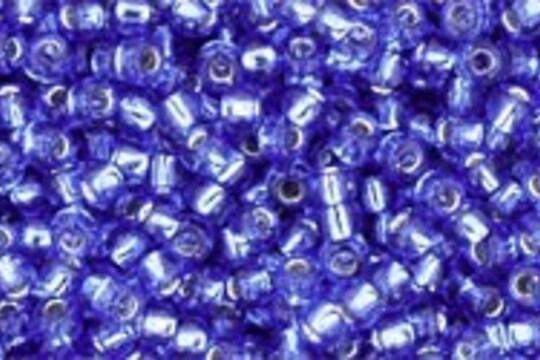 Margele Toho rotunde 11/0 - Silver-Lined Sapphire
