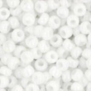 Margele Toho rotunde 11/0 - Opaque White