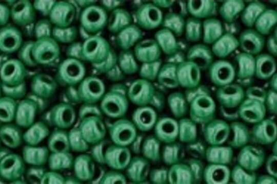 Margele Toho rotunde 11/0 - Opaque Pine Green
