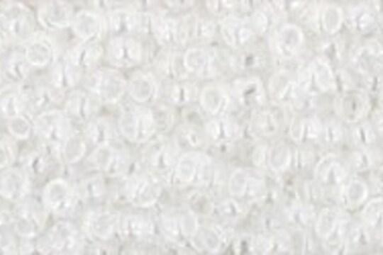 Margele Toho rotunde 11/0 - Trans-Lustered Crystal
