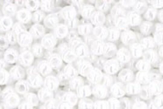 Margele Toho rotunde 11/0 - Opaque-Lustered White