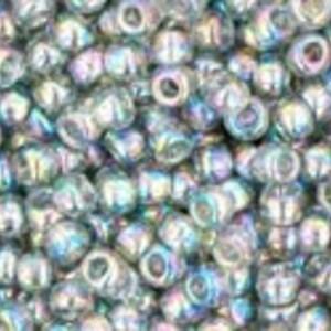 Margele Toho rotunde 11/0 - Trans-Rainbow Black Diamond