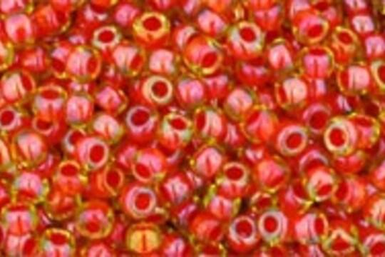 Margele Toho rotunde 11/0 - Inside-Color Jonquil/Hyacinth Lined