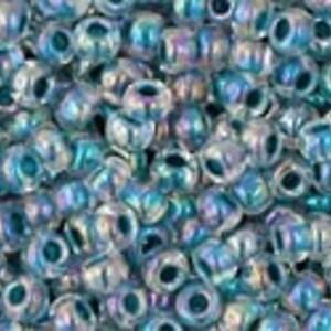 Margele Toho rotunde 11/0 - Inside-Color Rainbow Crystal/Capri Lined