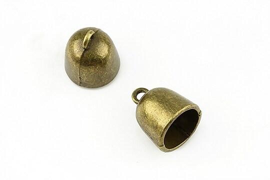Capat de snur bronz 16x13mm (interior 11mm)