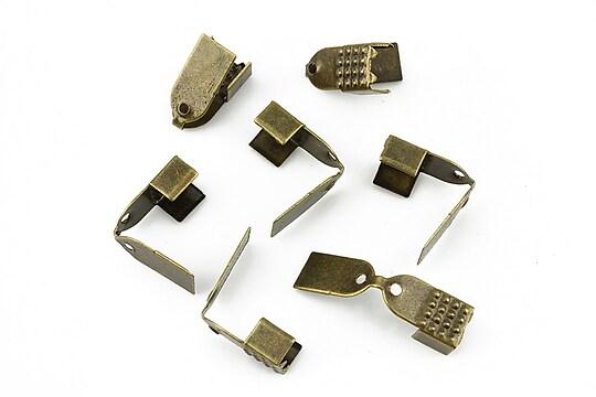 Capat snur bronz latime 5mm (11x5x4mm) (10buc.)
