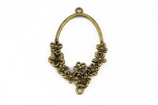 Chandelier bronz 40x25mm