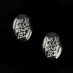 "Cabochon sticla 18x13mm ""Background"" cod 859"