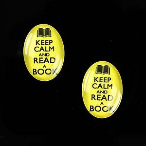 """Cabochon sticla 18x13mm """"Always Keep Calm"""" cod 872"""