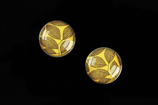 "Cabochon sticla 16mm ""Pattern"" cod 898"