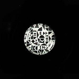 """Cabochon sticla 18mm """"Pattern"""" cod 908"""