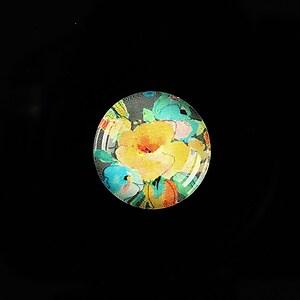"""Cabochon sticla 18mm """"Pattern"""" cod 920"""