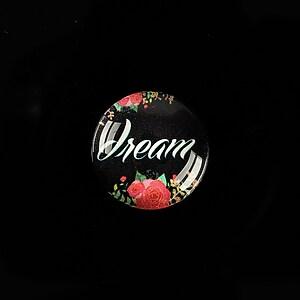 """Cabochon sticla 18mm """"Dream"""" cod 926"""