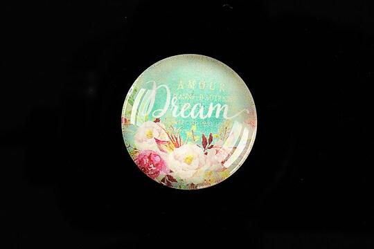 """Cabochon sticla 25mm """"Dream"""" cod 934"""