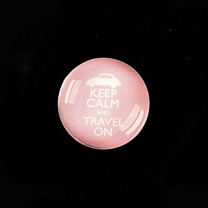 "Cabochon sticla 20mm ""Always Keep Calm"" cod 953"