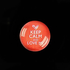 "Cabochon sticla 20mm ""Always Keep Calm"" cod 955"