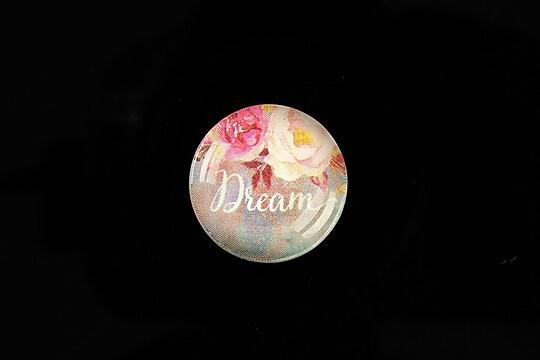 """Cabochon sticla 20mm """"Dream"""" cod 961"""