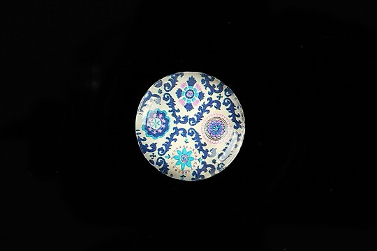 "Cabochon sticla 20mm ""Pattern"" cod 977"