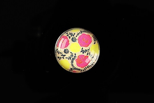 "Cabochon sticla 20mm ""Pattern"" cod 979"