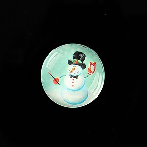 "Cabochon sticla 20mm ""Christmas"" cod 991"