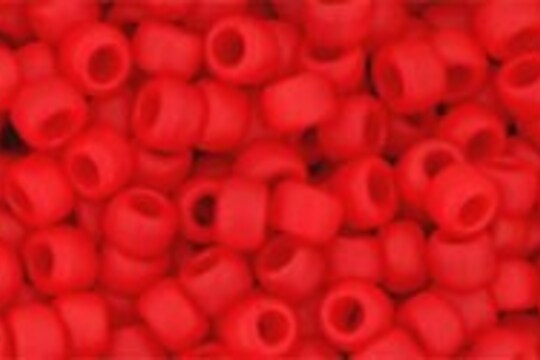 Margele Toho rotunde 8/0 - Opaque-Frosted Cherry