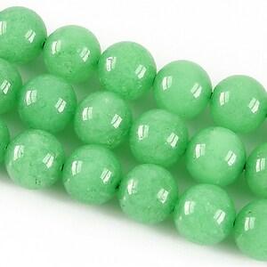 Jad sfere 10mm - verde deschis