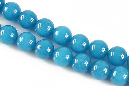 Jad sfere 10mm - albastru