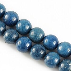 Jad sfere 10mm - albastru inchis
