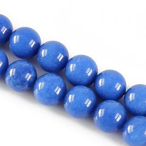 Jad sfere 10mm - albastru safir