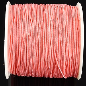 Snur nylon grosime 1mm, rola de 90m - roz flamingo