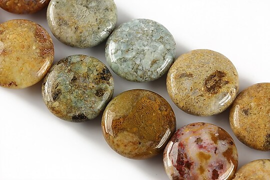 African green opal banuti 18mm