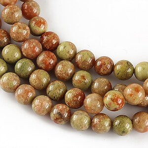 Unakite autumn sfere 6mm
