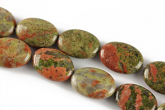 Unakite oval 18x13mm