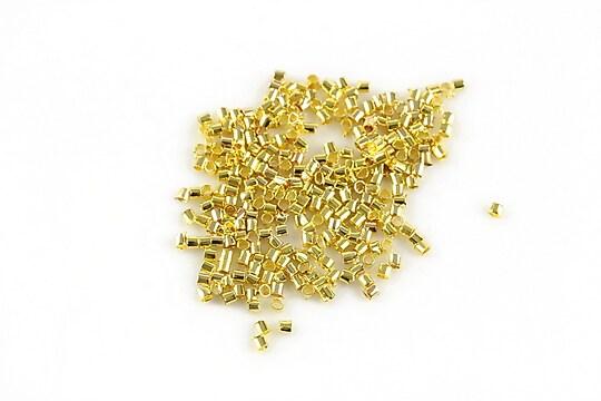 Crimp auriu 1,2mm (3g - aprox. 400 buc.)