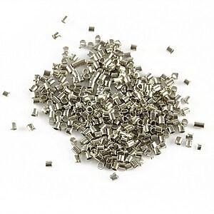 Crimp argintiu inchis 1,2mm (3g - aprox. 400 buc.)