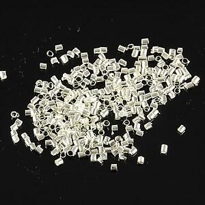 Crimp argintiu 1,2mm (3g - aprox. 400 buc.)