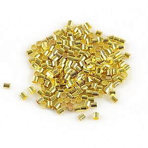 Crimp auriu 1,8mm (3g - aprox. 300 buc.)