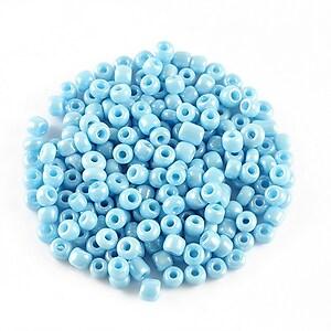 Margele de nisip lucioase 3mm (50g) - cod 533 - albastru deschis