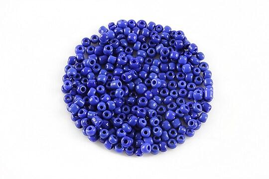 Margele de nisip 2mm lucioase (50g) - cod 528 - albastru safir